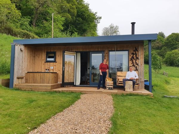 The Roost Luxury Glamping | Two Eco Cabins in the Forest of Dean